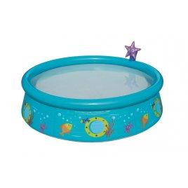 Bestway Dětský bazén s nafukovacím okrajem a sprchou