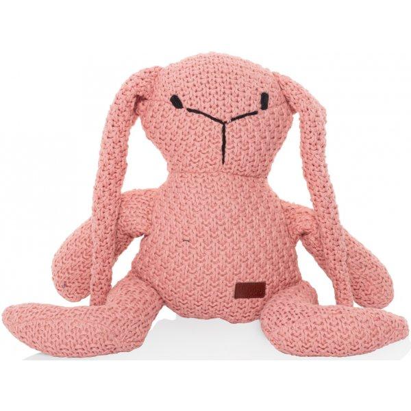 Zopa Pletená hračka Zajíc Pink