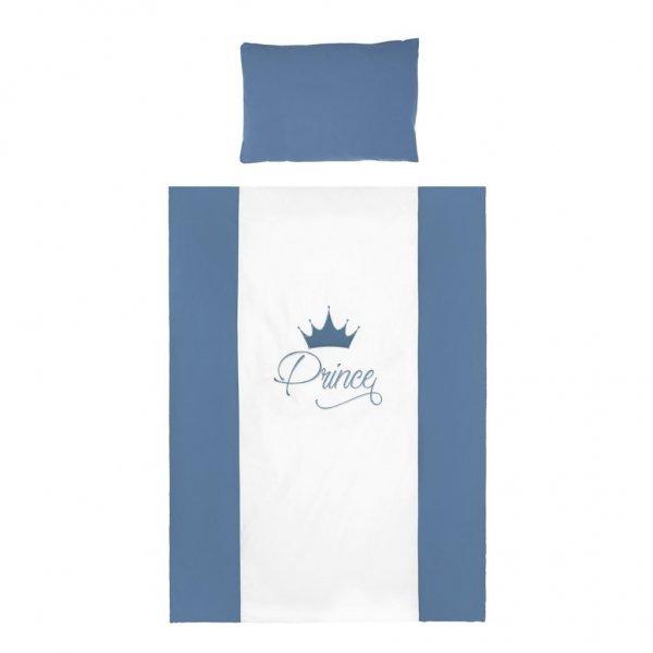 BELISIMA 2-dílné ložní povlečení Belisima Royal Baby 90/120 modré Modrá