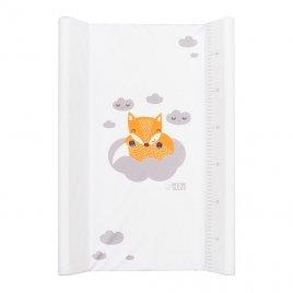 New Baby Přebalovací nástavec New Baby Liška bílý 50x70cm