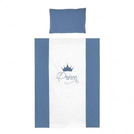 Belisima 6-dílné ložní povlečení Belisima Royal Baby 100/135 modré
