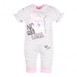 New Baby Kojenecké tričko s krátkým rukávem a tepláčky New Baby Lama