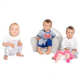 New Baby Kojenecké tričko s krátkým rukávem a tepláčky New Baby Summer