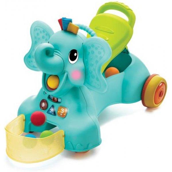 B Kids Odrážedlo 3v1 Slon Ollie Modrá