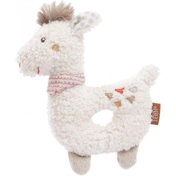 Baby Fehn Měkký kroužek lama Peru