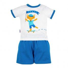 New Baby Kojenecká souprava tričko a kraťásky New Baby Liška