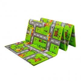 Playto Multifunkční skládací hrací podložka PlayTo Cesta