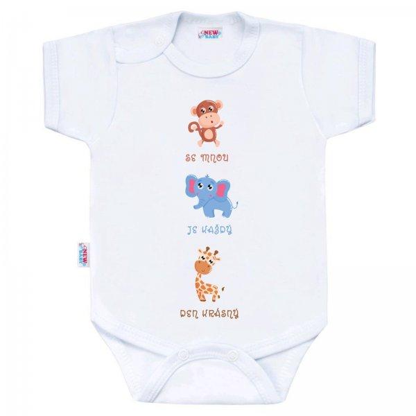 New Baby Body s potiskem New Baby ...Krásný Den