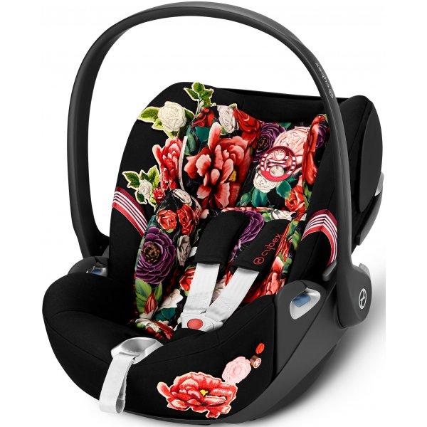 Cybex Cloud Z i-Size Fashion Spring Blossom autosedačka 2020 Dark