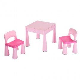 New Baby Dětská sada stoleček a dvě židličky