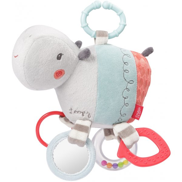 Baby Fehn Aktivity hračka hroch Loopy&Lotta
