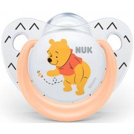 NUK Dudlík Trendline DISNEY-Medvídek Pú,SI,V2 (6-18m.)