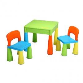 New Baby Dětská sada stoleček a dvě židličky NEW BABY multi color