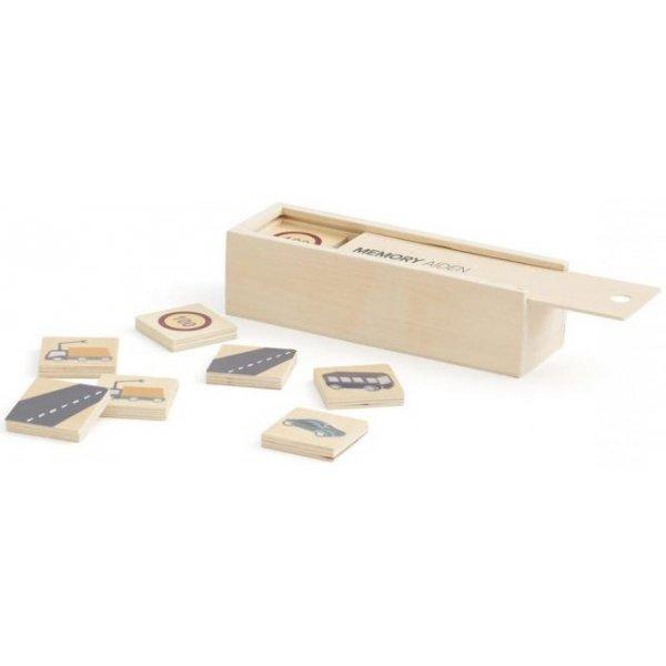Kids concept Pexeso dřevěné AIDEN Béžová