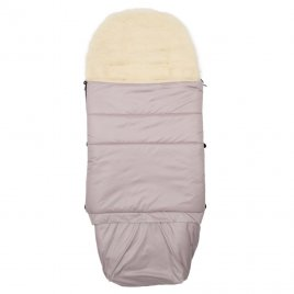 New Baby Dětský fusák New Baby 3v1 s ovčím rounem růžový