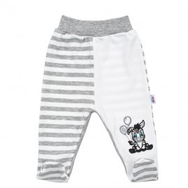 New Baby Kojenecké bavlněné polodupačky New Baby Zebra exclusive