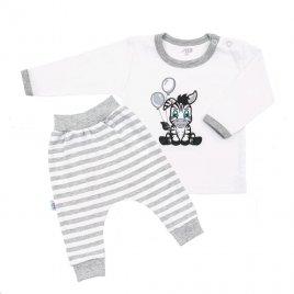New Baby 2-dílná kojenecká souprava New Baby Zebra exclusive
