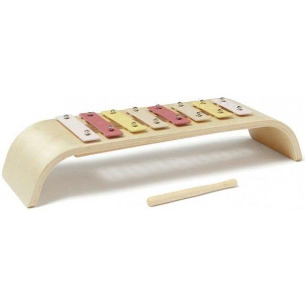 Kids concept Xylofon dřevěný Pink
