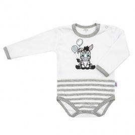 New Baby Kojenecké bavlněné body New Baby Zebra exclusive