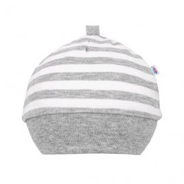 New Baby Kojenecká bavlněná čepička New Baby Zebra exclusive