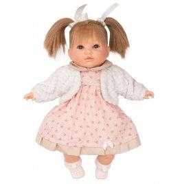 Berbesa Luxusní mluvící dětská panenka-holčička Berbesa Natálka 40cm