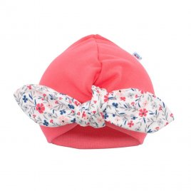New Baby Dívčí čepička turban New Baby For Girls
