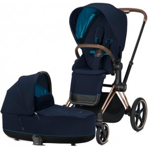 Cybex Priam podvozek, Seat Pack, Lux Carry Cot 2020 Nautical Blue