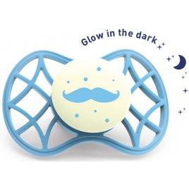 Nuvita Ortodontický dudlík Cool 6m+ svítící ve tmě