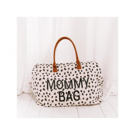Childhome Přebalovací taška Mommy Bag Canvas Leopard