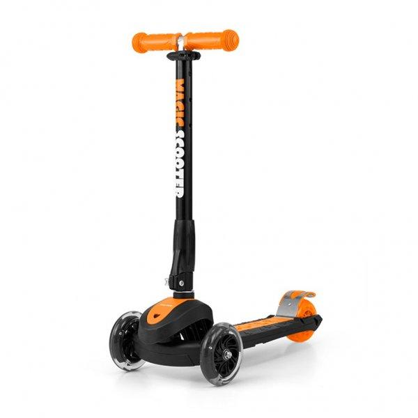 Milly Mally Dětská koloběžka Milly Mally Magic Scooter orange Oranžová