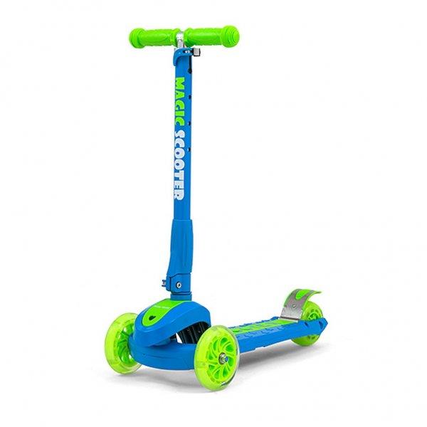 Milly Mally Dětská koloběžka Milly Mally Magic Scooter blue-green Multicolor