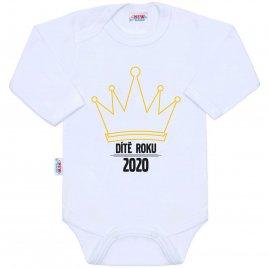 New Baby Body s potiskem New Baby Dítě roku 2020