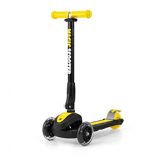 Milly Mally Dětská koloběžka Milly Mally Magic Scooter yellow Žlutá