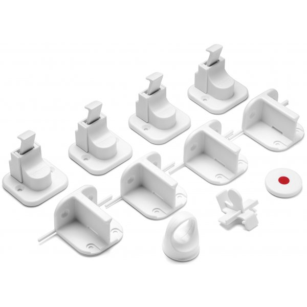 Reer Magnetický zámek - 4 kusy Bílá