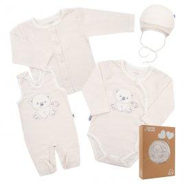 New Baby Kojenecká soupravička do porodnice New Baby Sweet Bear