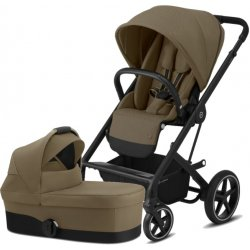 Cybex Balios S Lux BLACK, Carry Cot S 2020 Classic Beige