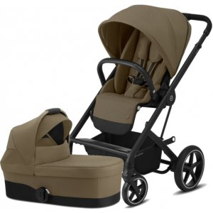 Cybex Balios S Lux BLACK, Carry Cot S 2021 Classic Beige