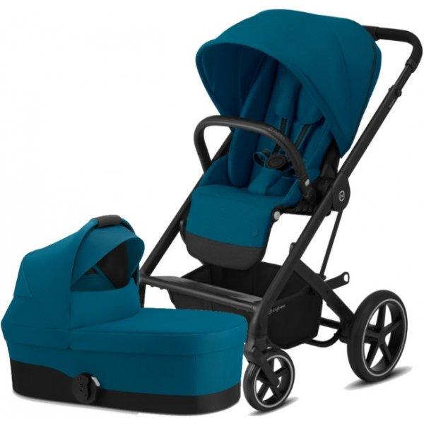 Cybex Balios S Lux BLACK, Carry Cot S 2020 River Blue