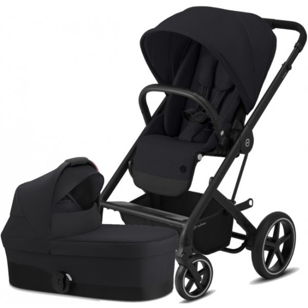 Cybex Balios S Lux BLACK, Carry Cot S 2020 Deep black