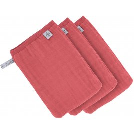 Lässig Muslin Wash Glove Set 3 pcs