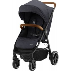 Britax Kočárek B-Agile R 2020 Black Shadow/Brown