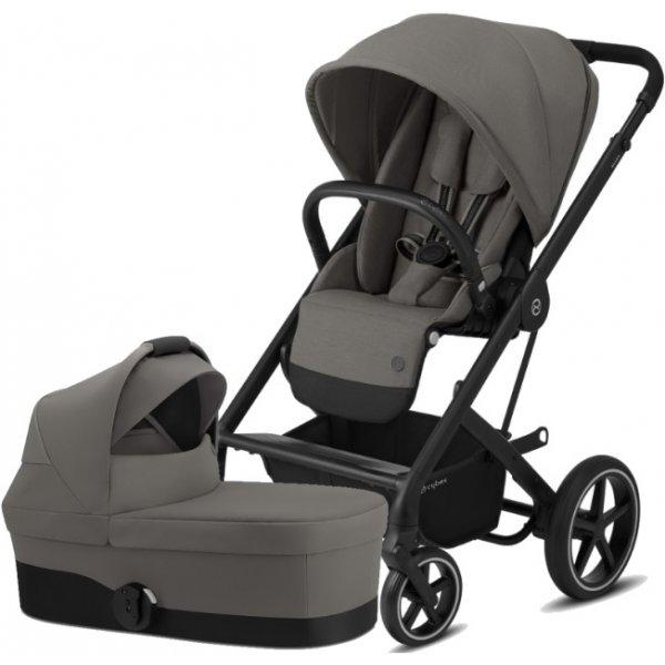 Cybex Balios S Lux BLACK, Carry Cot S 2020 Soho Grey