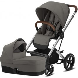 Cybex Balios S Lux Silver, Carry cot S