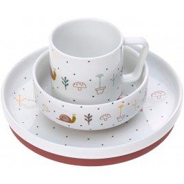 Lässig Dish Set Porcelain Garden Explorer