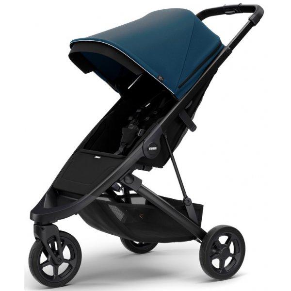 Thule SPRING STROLLER Black 2020 MAJOLIKA BLUE
