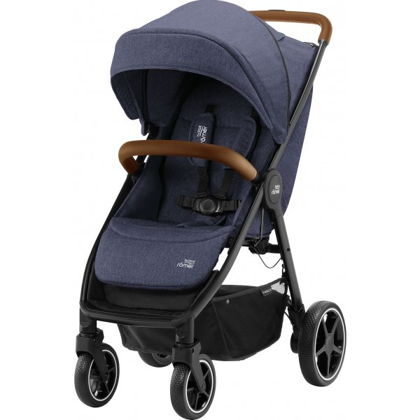 Britax Kočárek B-Agile R 2020 Navy Ink/Brown