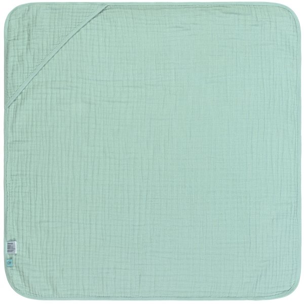 Lässig Muslin Hooded Towel Mint