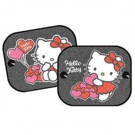 Kaufmann Stínítka do auta 2 ks v balení Hello Kitty 2