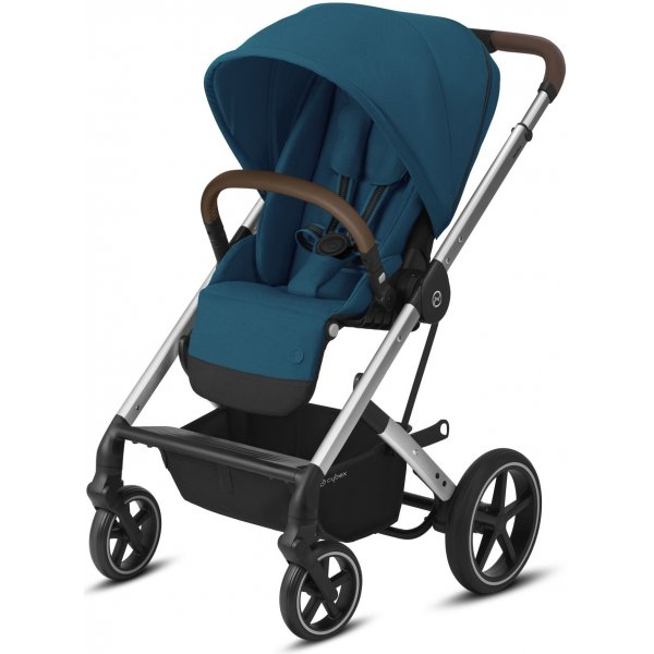 Cybex Balios S Lux SILVER 2020 River Blue