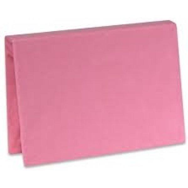 Babymatex Prostěradlo Jersey s gumou, 60x120 Růžová